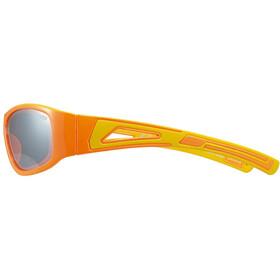 UVEX Sportstyle 509 Lunettes de sport Enfant, orange/yellow/litemirror silver